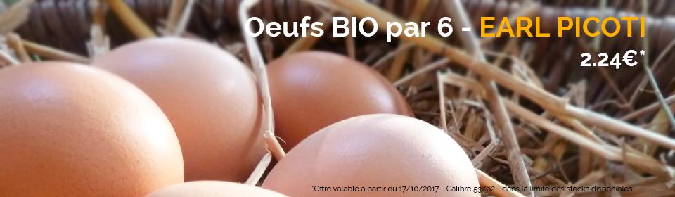 Focus œufs biologiques Leclerc Ancenis